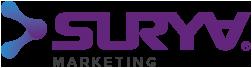 Surya MKT Agencia de Marketing Digital Logotipo Para Menu